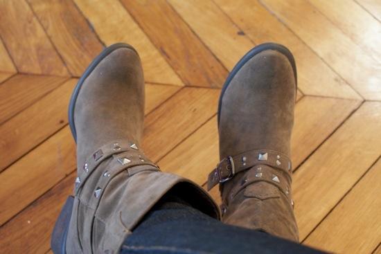 Boots la halle aux chaussures