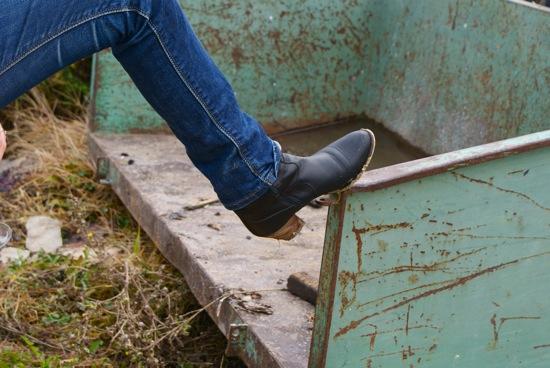 les boots d'azzed