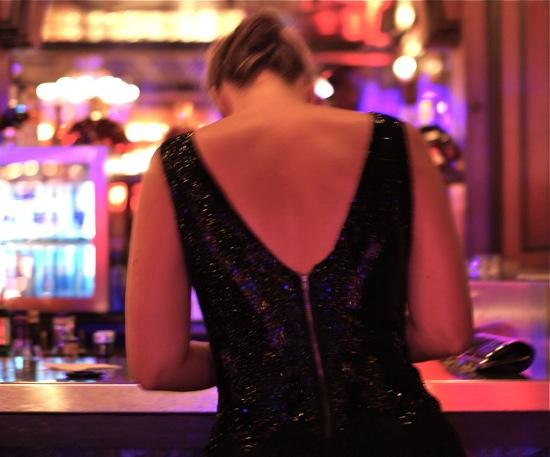 robe à paillettes