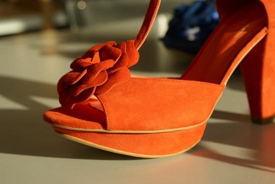 chaussure à plateau
