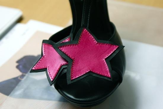 chaussures étoile