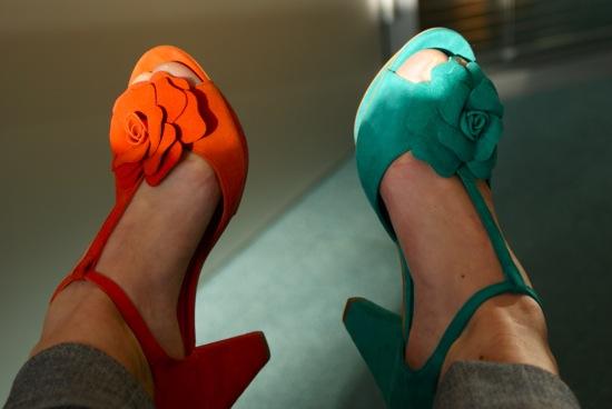 chaussures violette andré