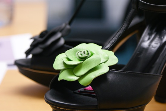 fleur verte