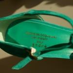 C'est l'histoire d'une chaussure verte…