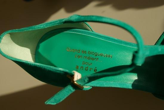 9974d91ef11c51 C est l histoire d une chaussure verte…