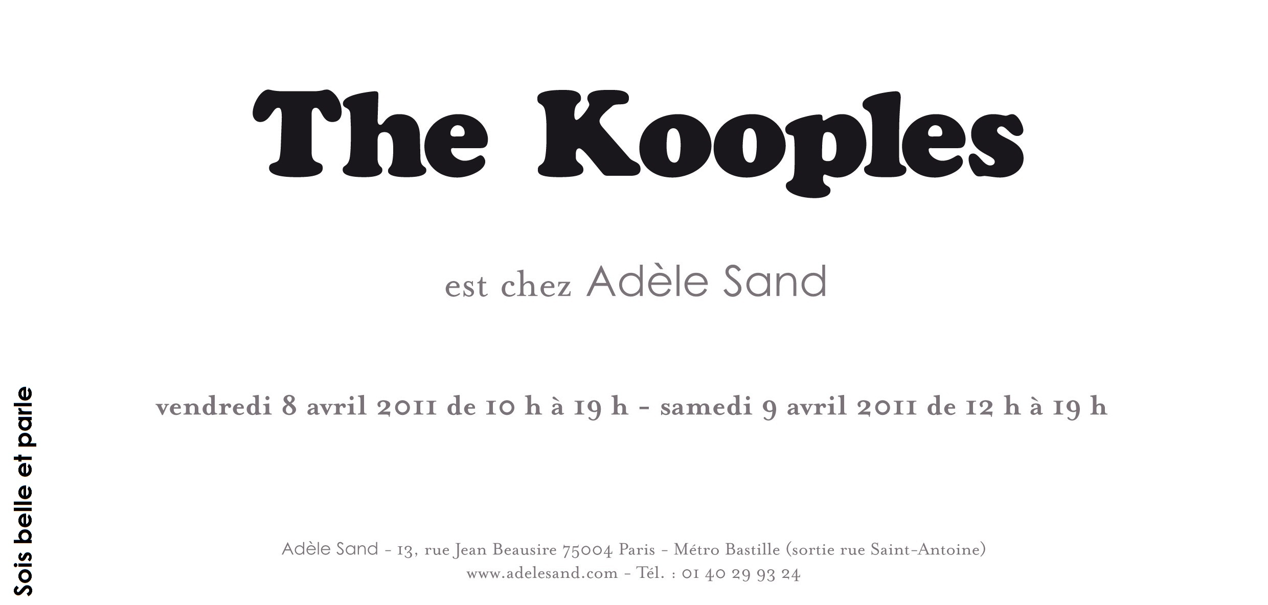 Kooples discount coupon