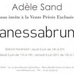 Vente presse Vanessa Bruno – Juin 2011