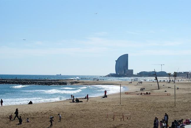 plage barcelone 3