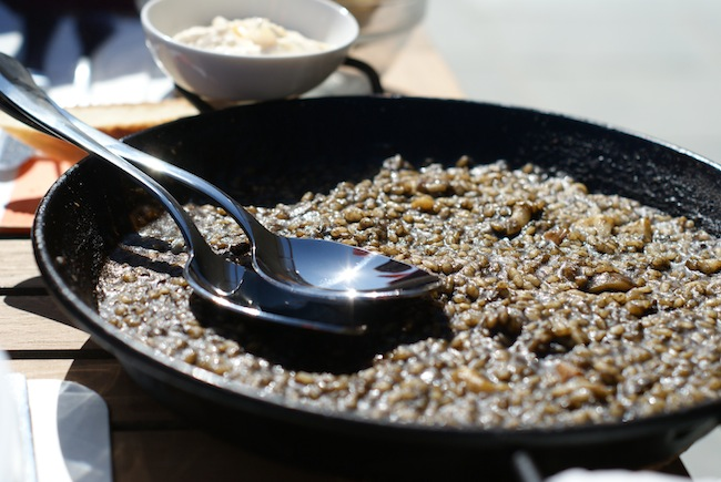 riz a l'encre de seiche