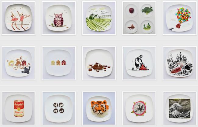 31 days of food art