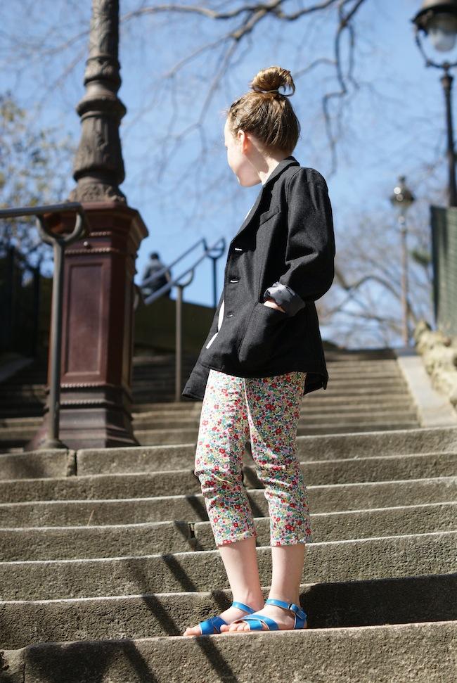 pantalon fleurs boden