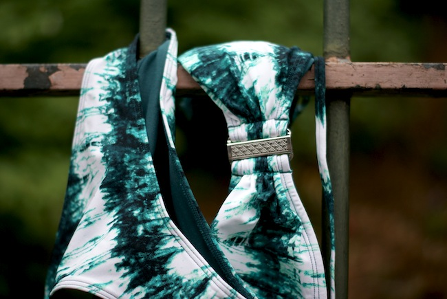 maillot de bain tie and dye