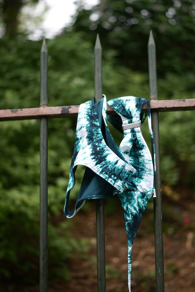 maillot tie and dye