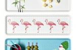 plateau flamants roses