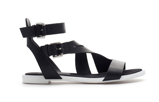 sandales zara