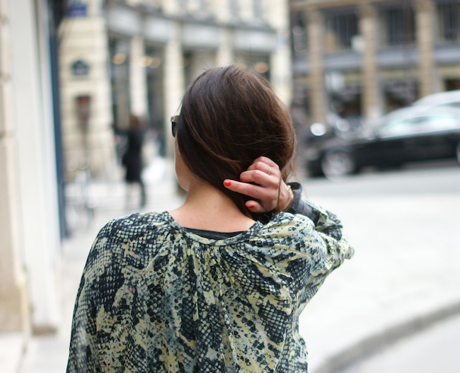 snake print blouse isabel marant