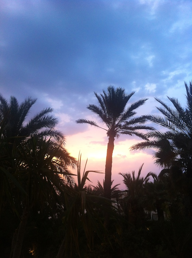 sunset djerba