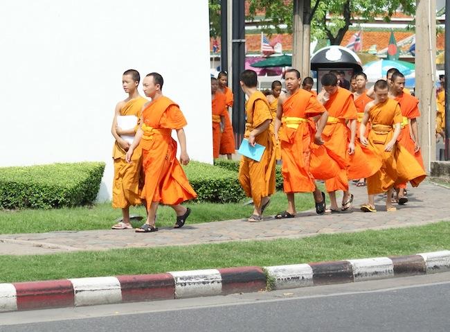 bonzes thailande