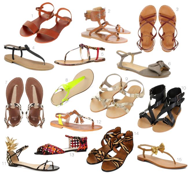 sandales ete 2013