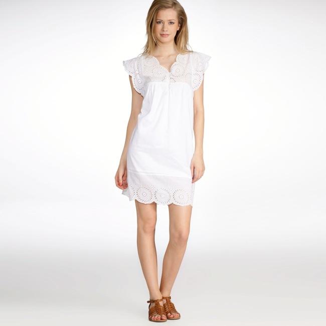 La redoute robe en dentelle blanche