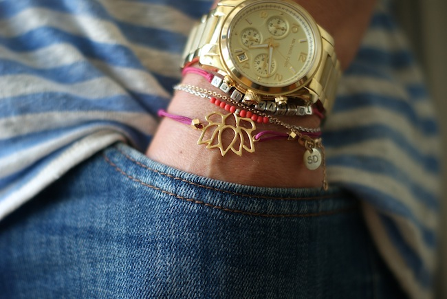 bracelet lotus GAS