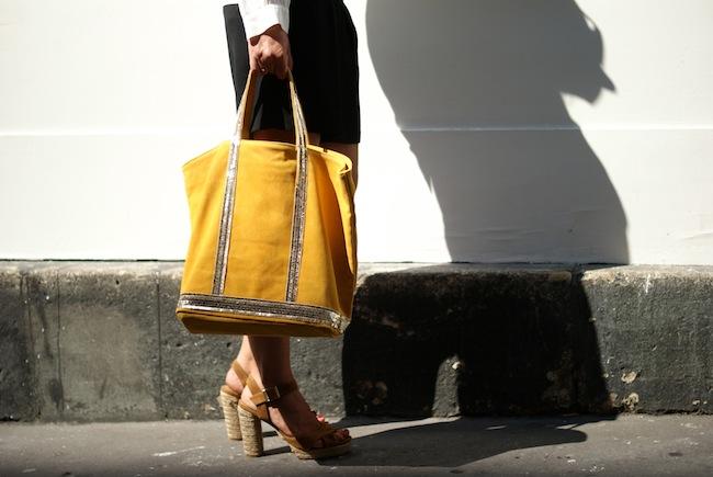 sac vanessa bruno jaune