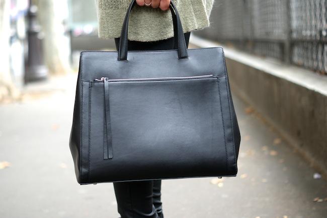 sac noir zapa