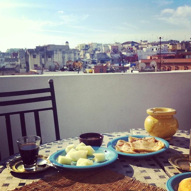 petit dejeuner maroc