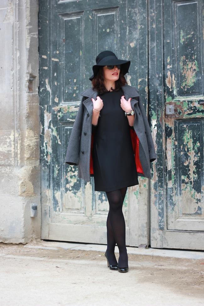 comptoir des cotonniers robe noire