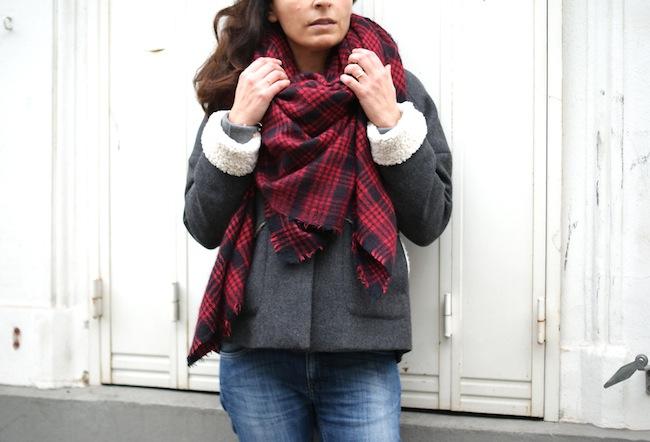 Zara femme écharpe - Idée pour s habiller f15b1f5e024