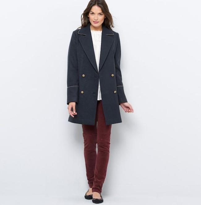 manteau drap de laine