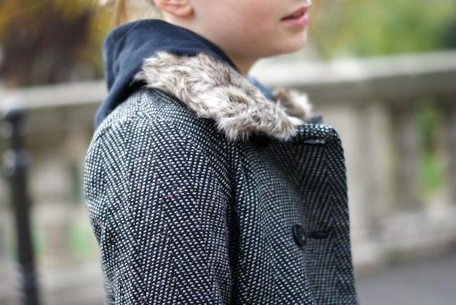 manteau fourrure la redoute