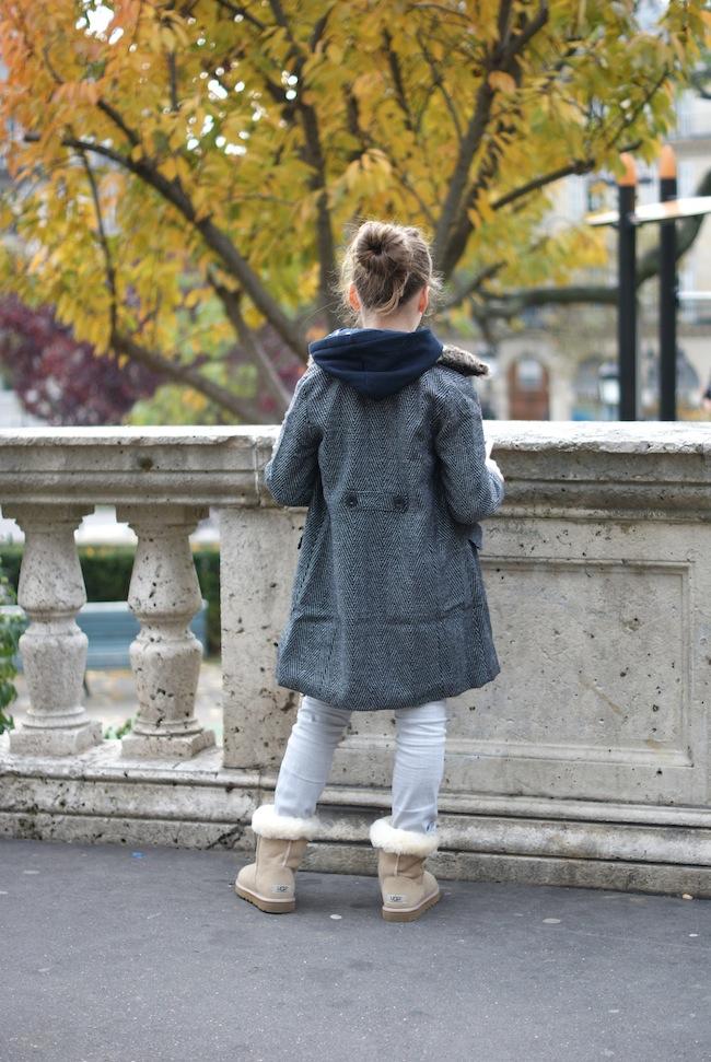 manteau la redoute enfant