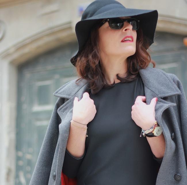robe noire comptoir des cotonniers