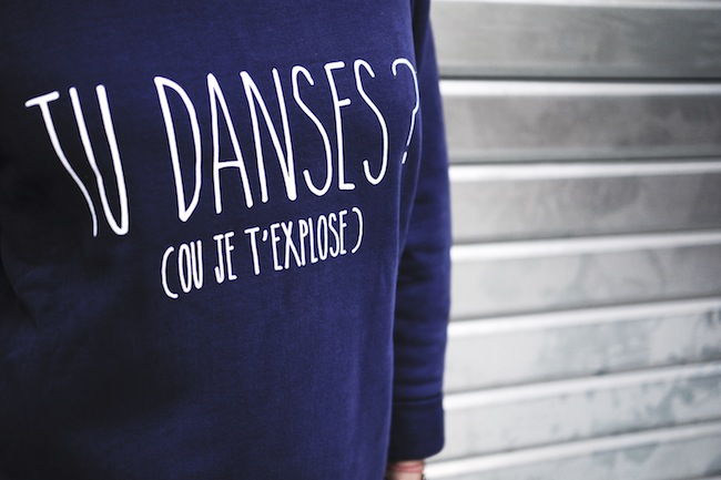 sweat tu danses ou je texplose