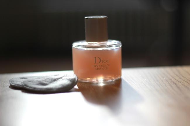 dissolvant abricot dior