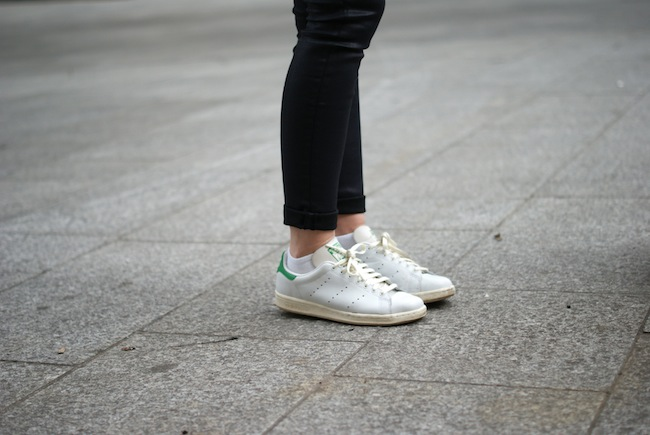 adidas stan smith verte femme