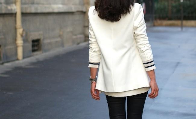 veste blanche pimkie