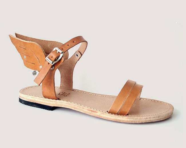 sandales hermes