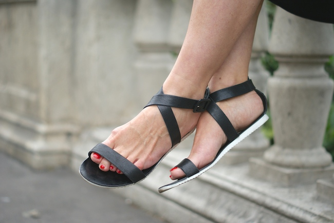 sandales pieces