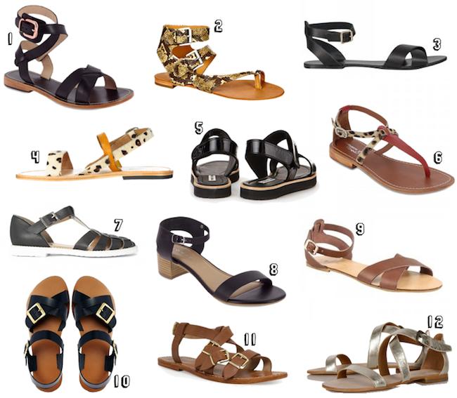 selection sandales