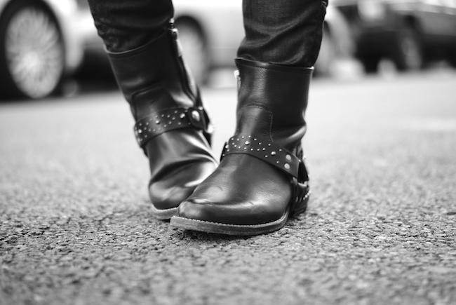 ikks boots motardes