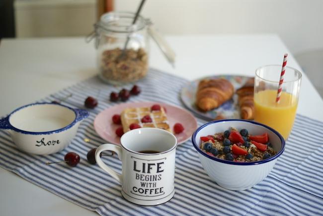 life begins wih coffee