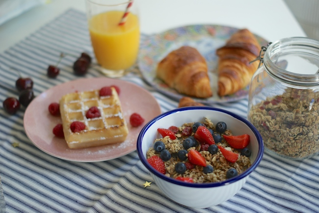photo petit dejeuner