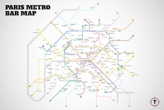 Carte-Paris-Metro-Bar