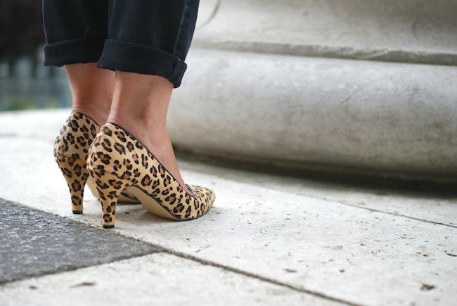 escarpins leopard 2