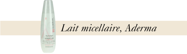 lait micellaire aderma