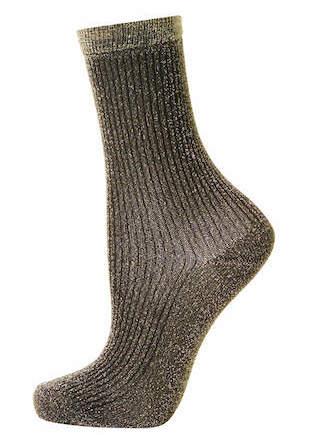 chaussettes paillettes