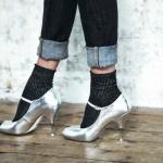 Les chaussettes qui brillent