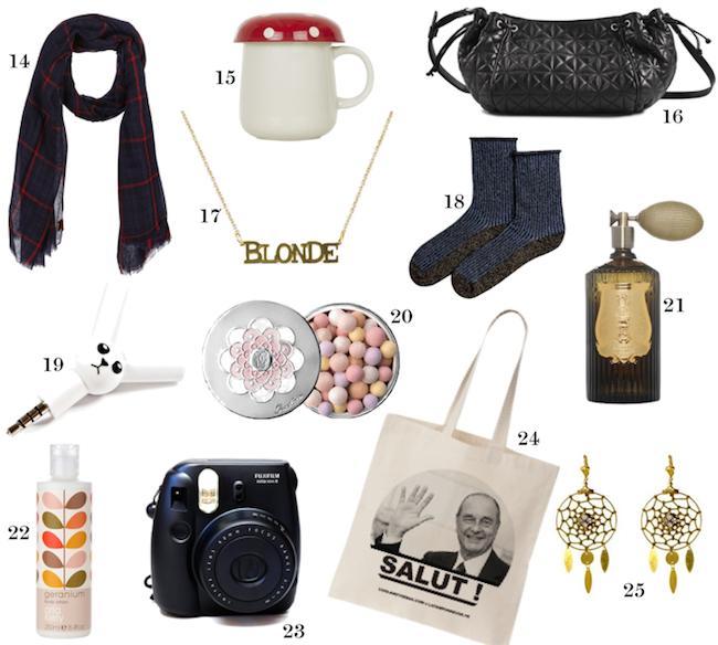 25 idées cadeaux pour ELLE | SOIS BELLE ET PARLE - L\'ÜBER VIE DE ...
